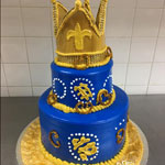 Crown Shaped Cake