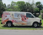 Florida Bakery Delivery Truck